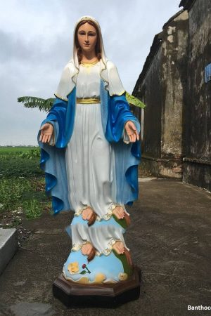 Tượng Đức Mẹ Ban Ơn 140cm