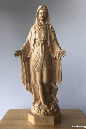 Tượng Đức Mẹ Ban Ơn 50cm