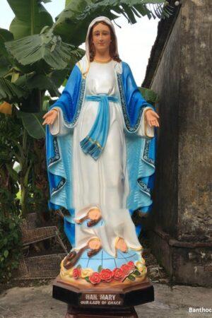 Tượng Đức Mẹ Ban Ơn 160cm