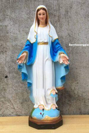 Tượng Đức Mẹ Ban Ơn 45cm - Ảnh 1