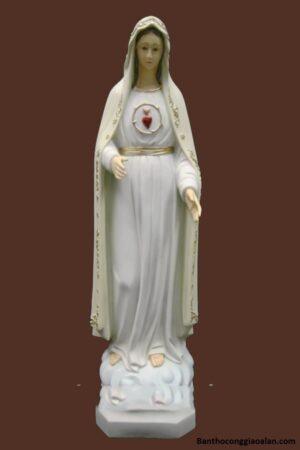 Tượng Đức Mẹ Fatima 85cm