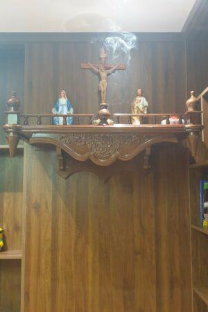 Mẫu bàn thờ công giáo hiện đại - BTCG03